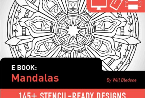 Tattoosmart: Mandalas Brush Set by Will Bledsoe for sale now
